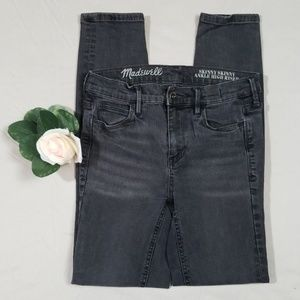Madewell Skinny Skinny Ankle High Riser Jeans 24